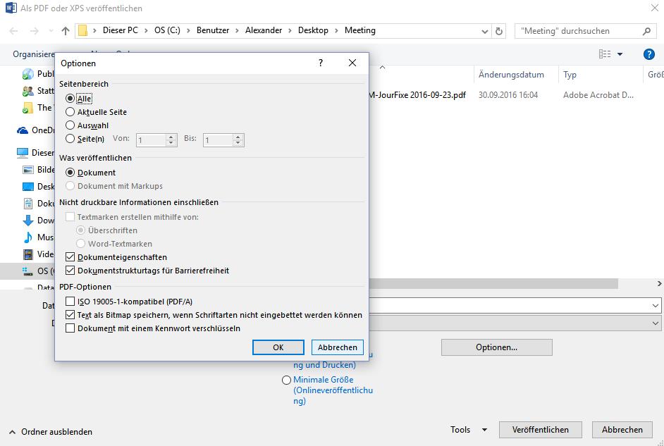 Kleine PDF-Dateien für ein Fotoprotokoll erstellen Screenshot 5
